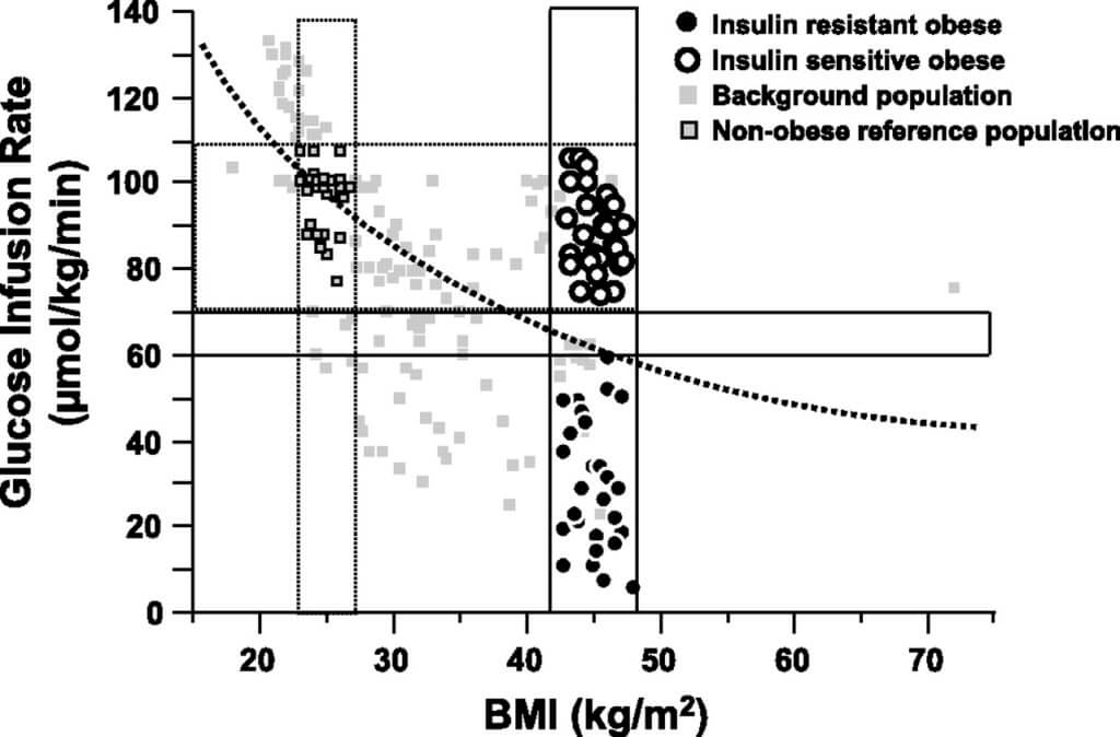 Insulin-sensitive obesity